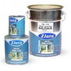 Эмаль ПФ-115 Zlata салатовая